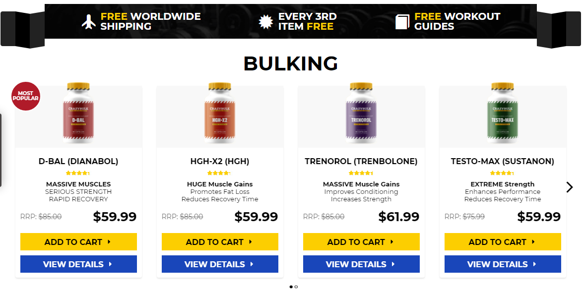 What's the best supplement for bulking